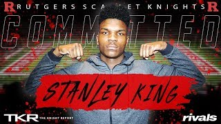 Analysis: Stanley King commits to Rutgers