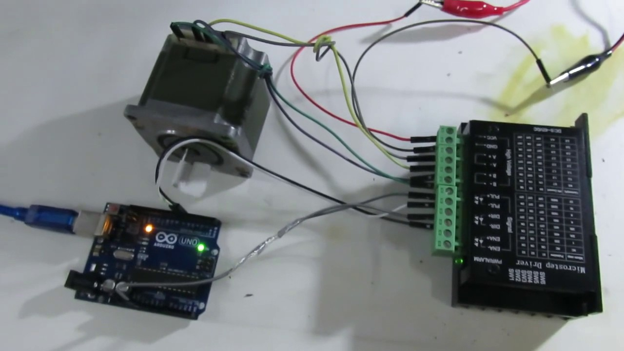 Tb6600 Stepper Motor Driver Wiring Great Installation Of Circuit Drive Demo Video Youtube Rh Com Simple Stepperonline Arduino