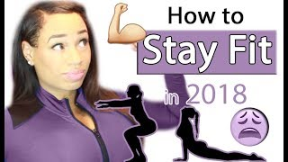 how to stay fit in 2018