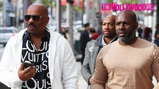 Steve Harvey Reacts To His Daughter Lori Dating Future & Calls Out Mark Curry With Corey Gamble