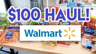$100 WALMART GROCERY HAUL AND MEAL PLAN 🍌 WE'VE GONE BANANAS!