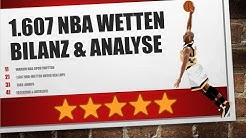 Bilanz & Analyse von 1.600 NBA Wetten #GettingReady4Season2018/19