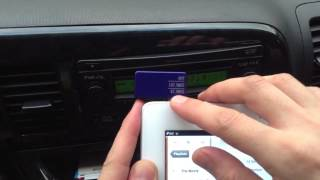 How to play music from an iPad through car stereo