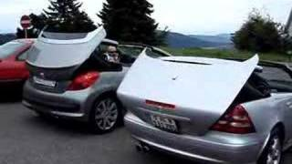 Peugeot 207cc schlägt Mercedes SLK!
