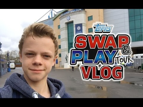 Topps Swap and Play Tour Vlog - London 2016