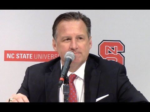 Listen to NC State's Mark Gottfried after the Wolfpack's loss to Virginia