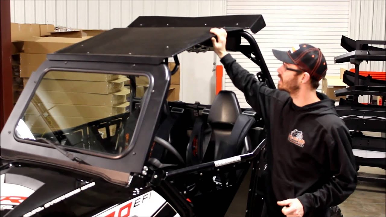 Bad Dawg Accessories For The Polaris RZR   YouTube