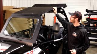 Bad Dawg Accessories - DOT Windshield for Polaris RZR