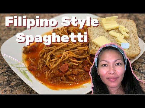 How to Make Filipino Spaghetti