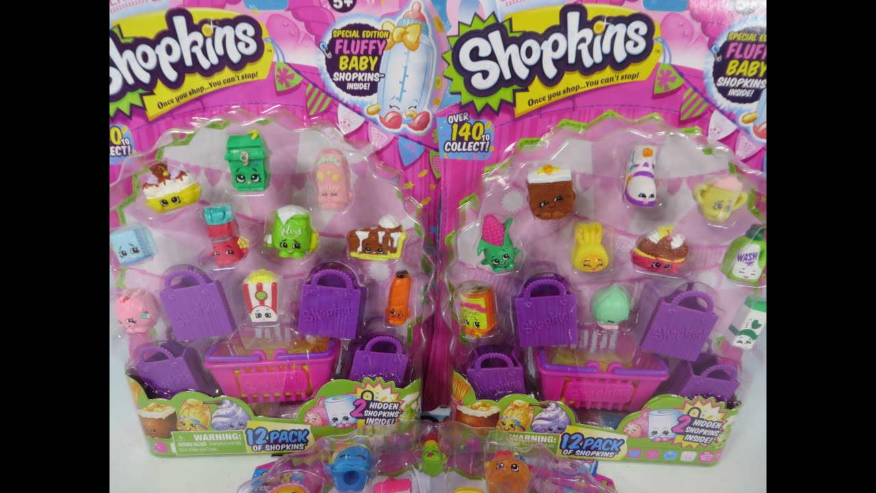 Another Shopkins Season 2 12 Pack Opening Unboxing Toy Review