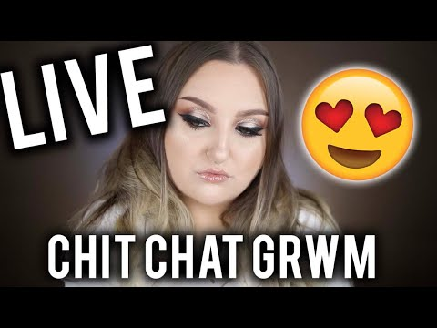 CHIT CHAT GRWM LIVE | Q & A HANG OUT!