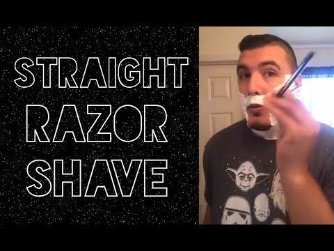 Shavette World Live Shave with Straight Razor - Stirling Barbershop