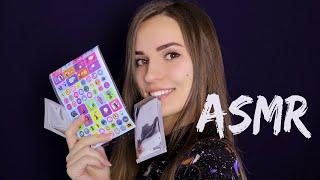 АСМР ◮ Звуки Шуршания | ASMR ◮ Crinkle & Rustling Sounds