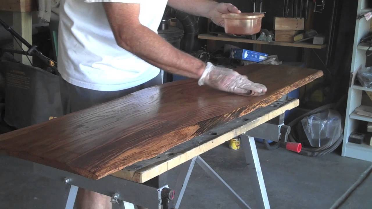 How To Make A Natural Wood Coffee Table