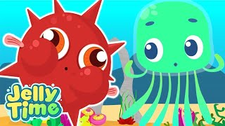 Jelly Time! | Jelly vs Puffer Fish! | Funny Animation for Kids | Wildbrain Cartoons For Children