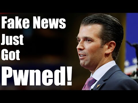 Trump Jr Beats Fake News Media To The Punch With Email Release