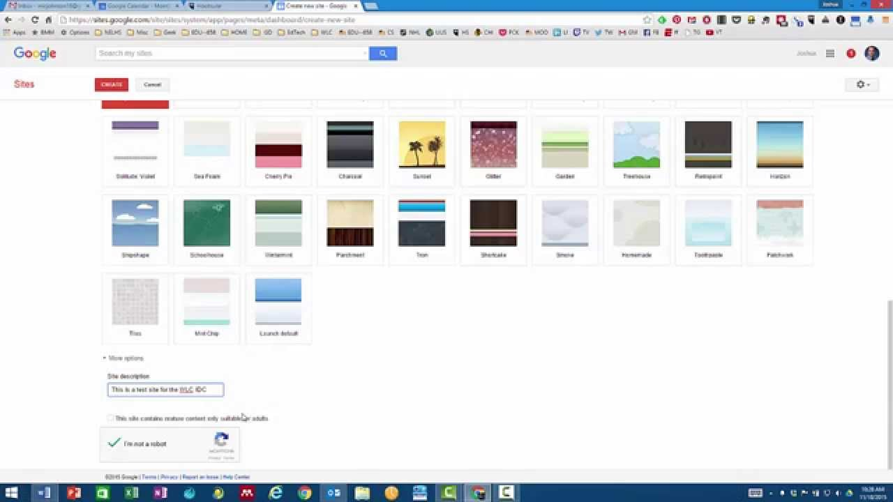 Google Sites Overview - YouTube
