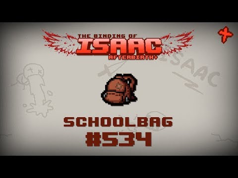 Binding of Isaac: Afterbirth Item guide  Schoolbag