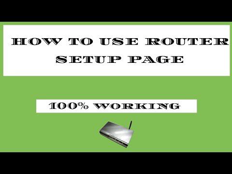 How to get wifi router link using router setup page
