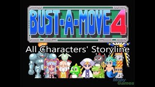 Bust a Move 4 - All Characters