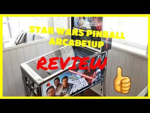 Star Wars Pinball Review - Arcade1up from SimonAU1up