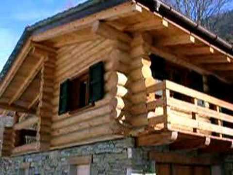 Case In Tronchi Di Legno Trentino : Baita 1 youtube