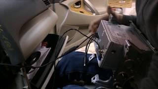 Установка штатной магнитолы Toyota Camry v40 [Modern]