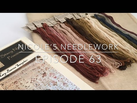 Nicole's Needlework: FlossTube #63 - June Challenge WIPs