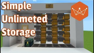 Shulker Box Storage Unlimited Items Super Simple Minecraft Tutorial