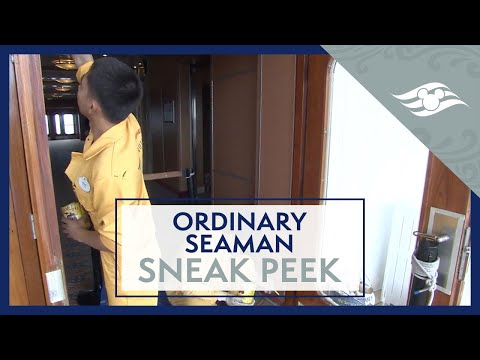 Ordinary Seaman Sneak Peek - Disney Cruise Line Jobs
