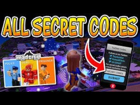 ALL CODES IN ROBLOX MAD CITY *FREE CASH* ALL TWITTER PROMO ...