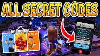 ALL CODES IN ROBLOX MAD CITY *FREE CASH* ALL TWITTER PROMO CODES IN MAD CITY ROBLOX