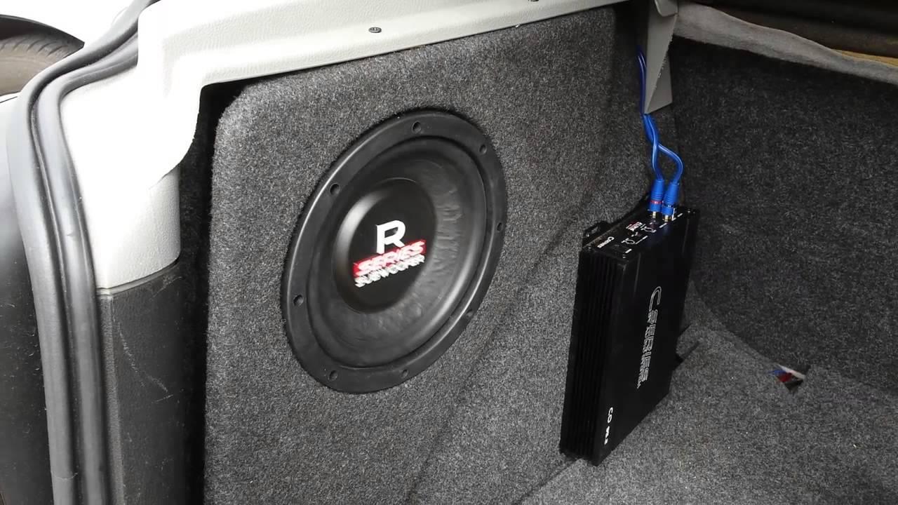 audio system r08 co95 2 zabudowa golf 4 youtube. Black Bedroom Furniture Sets. Home Design Ideas