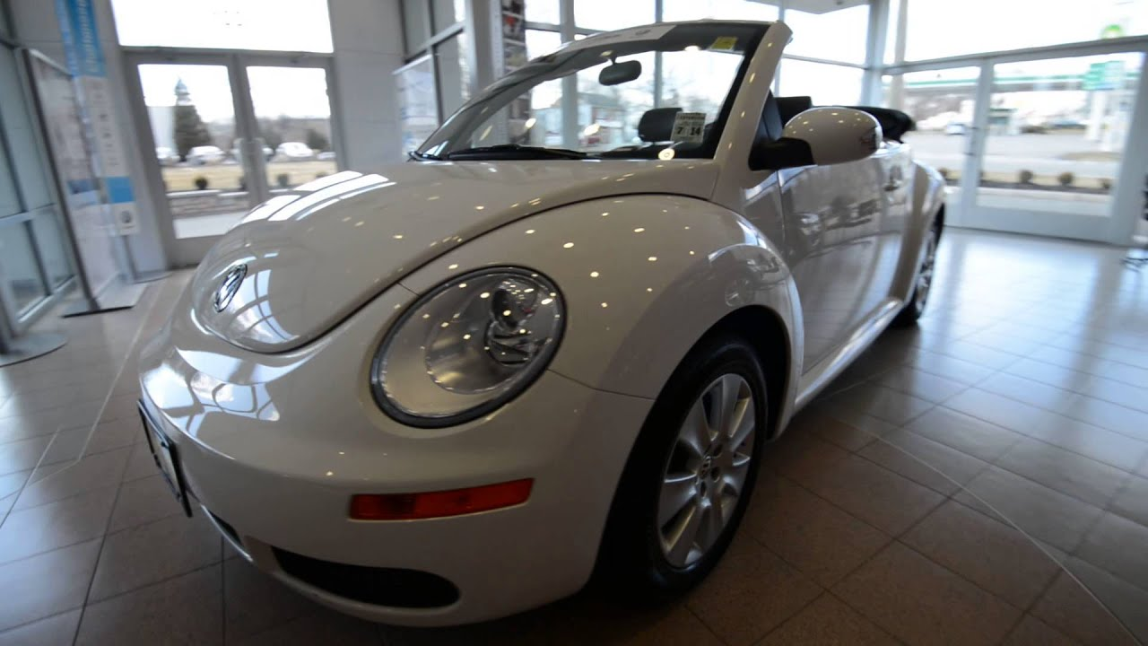 2010 Volkswagen New Beetle Convertible Droptop Stk 3726a