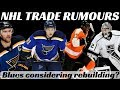 NHL Trade Rumours - Tarasenko, Quick, Simmonds, Hurricanes