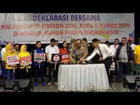 Jelang PSU, Perwakilan Seluruh Elemen Masyarakat Berkumpul Di Ballroom Hotel Prima Kota Cirebon