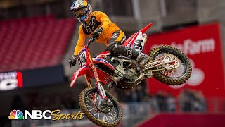 Supercross Round #2 at Glendale | EXTENDED HIGHLIGHTS | 1/12/19 | NBC Sports