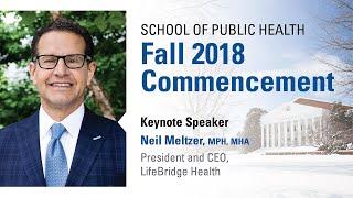 UMD School of Public Health Commencement, Winter 2018