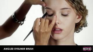 SOHO Professional Collection - Angled Eyeliner Brush Thumbnail