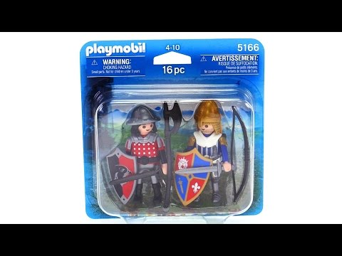 playmobil knights duo review 5166 youtube. Black Bedroom Furniture Sets. Home Design Ideas