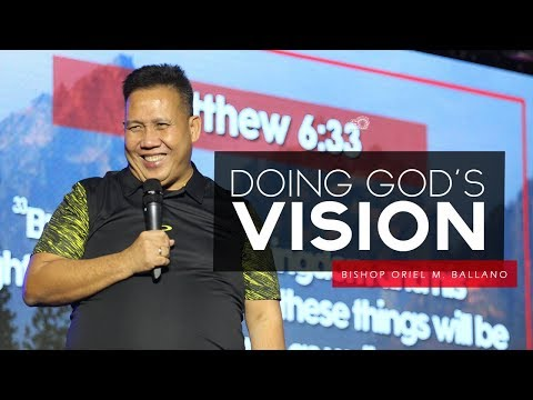 Doing God's Vision By Bishop Oriel M. Ballano