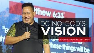Doing God's Vision by Bishop Oriel M. Ballano