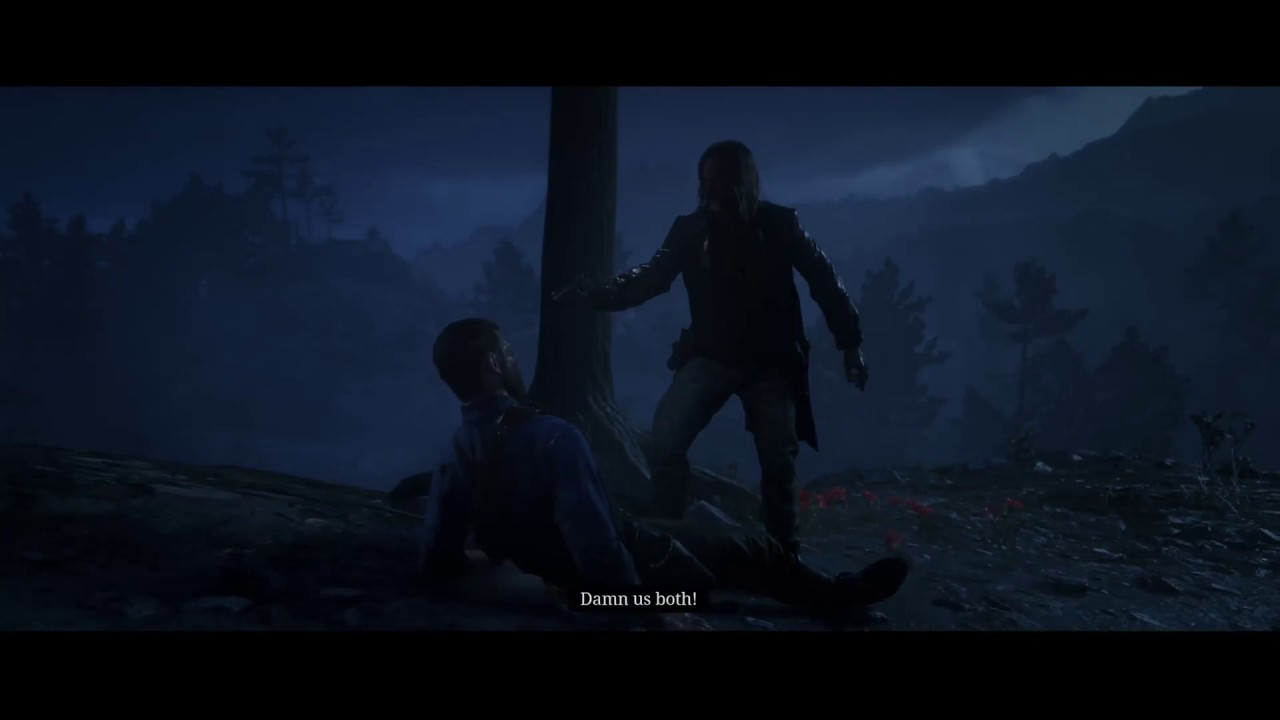 Arthur Morgan Death Scene (Betrayed By Dutch And Micah) Red Dead Redemption  2