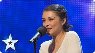 Alice Fredenham singing 39My Funny Valentine39 - Week 1 Auditions  Britain39s Got Talent 2013