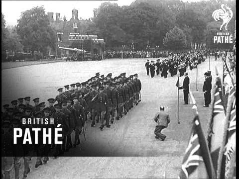 Legion Service At Woolwich (1934)