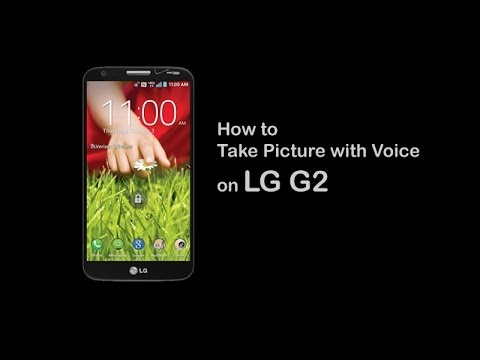 LG G2 - How to Take Picture with Voice on G2