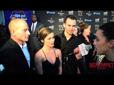 Brent Steffensen, Kacy Catanzaro & Joe Moravsky #ANW at the 3rd Annual Reality TV Awards
