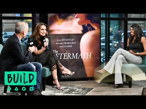 """Keira Knightley & James Kent Discuss The Film, """"The Aftermath"""""""