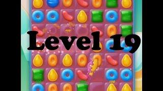 Candy Crush Jelly Saga Level 19