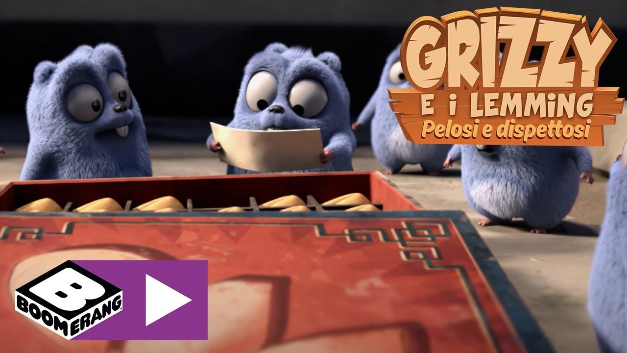 Download I biscotti della fortuna   Grizzy e I Lemming   Boomerang